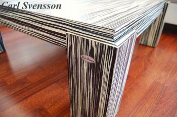 Bild 2 - Design Couchtisch N-555 Abanos Tisch Carl Svensson