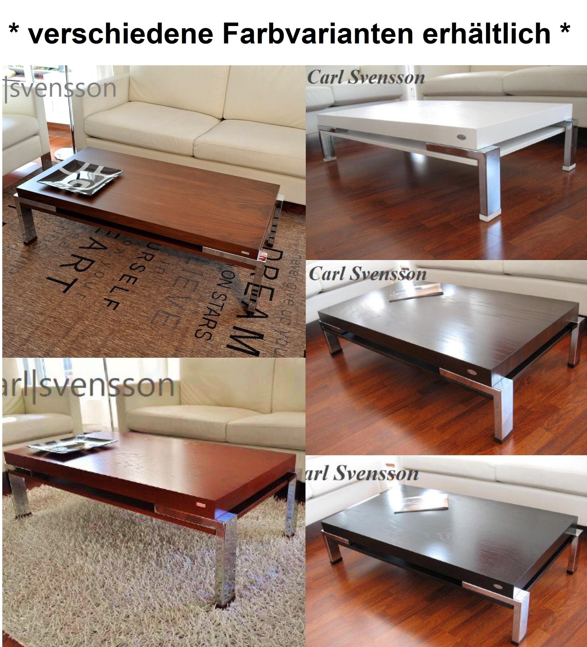 Design couchtisch tisch k 111 kirschbaum kirsche chrom for Design couchtisch h 111