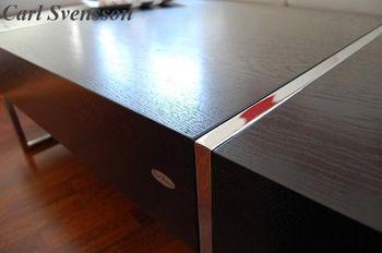 Bild 3 - Design Couchtisch Tisch N-111 Schwarz Chrom Carl Svensson