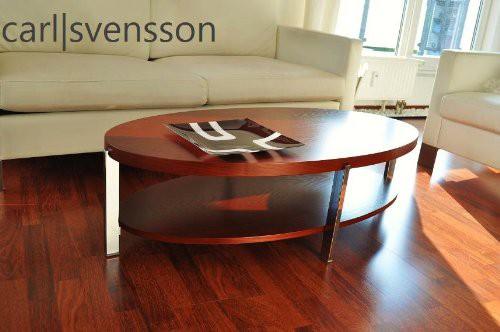 design couchtisch o 111 kirschbaum oval carl svensson neu tisch. Black Bedroom Furniture Sets. Home Design Ideas