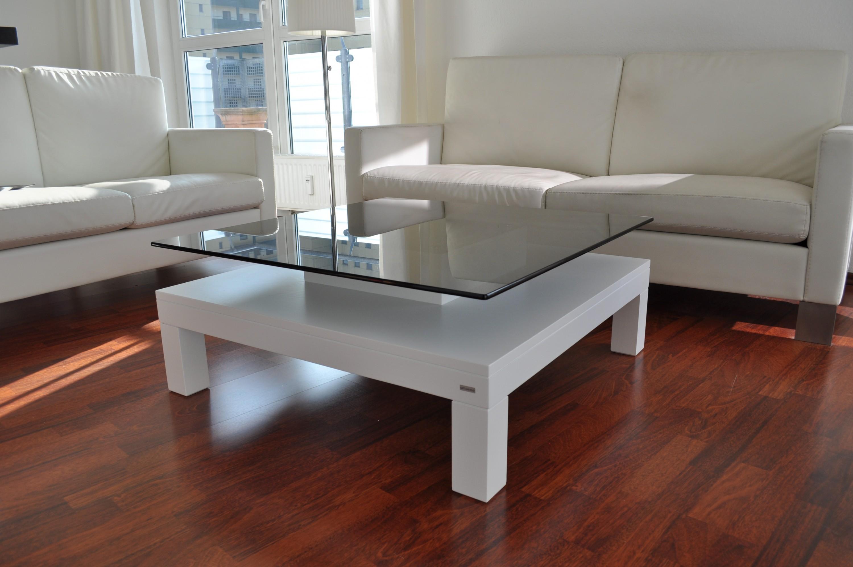 design couchtisch tisch v 570h wei get ntes glas carl. Black Bedroom Furniture Sets. Home Design Ideas