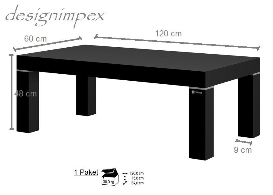Design couchtisch hn 888 schwarz hochglanz highgloss tisch for Design couchtisch hn 777