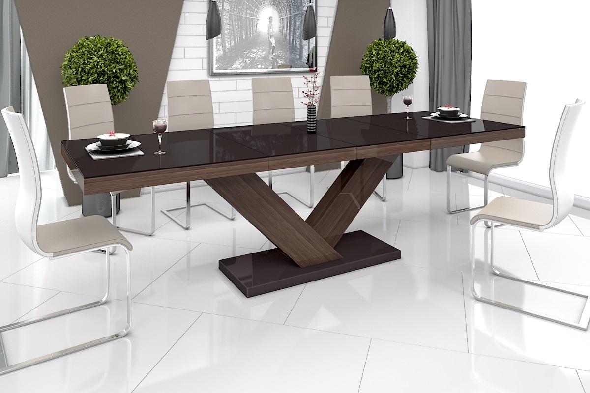 Design Esstisch Tisch HE-999 Braun / Walnuss