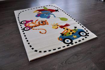 Hochwertiger FLORA Spielteppich Kinderteppich Teppich Tiger TF-9 120 x 170 cm