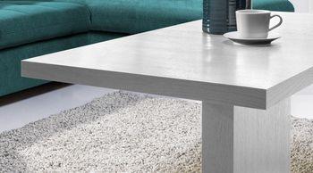 Bild 2 - Design Couchtisch Tisch MN-6 Weiß hochwertig