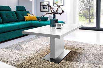 Design Couchtisch Tisch MN-6 Weiß hochwertig