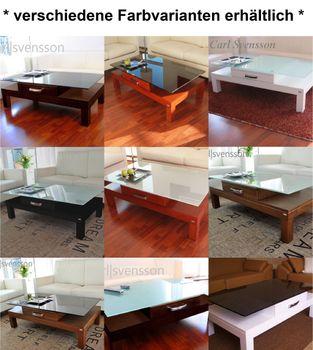 Bild 3 - Design Couchtisch Tisch V-470H Schwarz Milchglas Carl Svensson