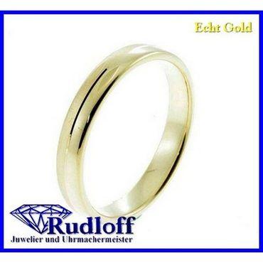Trauring Verlobungsring Ehering echt Gold 585 gelb 14 kt. 02/1189h/01