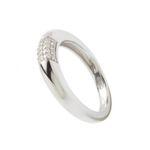 Fossil Schmuck Damen Ring 925 Sterling Silber JF17955 Größe 17 001