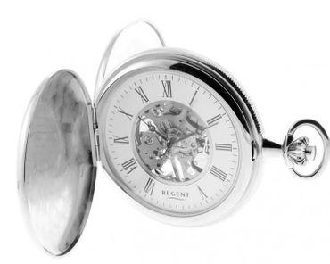Regent Taschenuhr Savonette 2 Sprungdeckel Uhr 31914w Gravur möglich mechanik