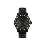 Jacques Lemans Uhr Damenuhr ROME 1-1517T La Passion schwarz 001