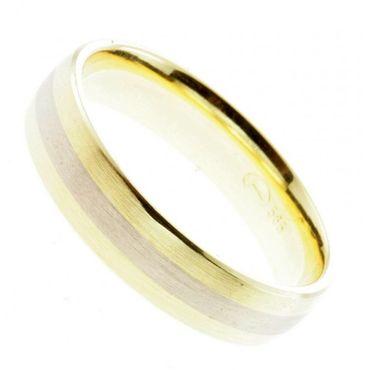 Trauring Verlobungsring Ehering echt Gold 585 14Karat Weite 64 bico 02 16400h01