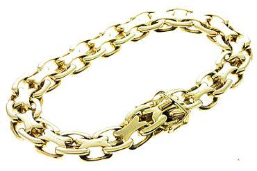 Armband aus echt Gold 585/14kt massiv 2221