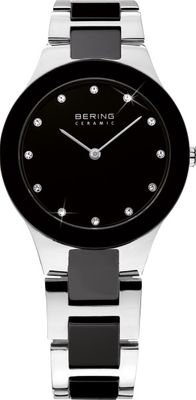 BERING Damen Uhr 32327-742 Ceramic Stahl Safirglas ultraslim design ladies watch