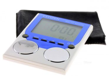 Citizen Reisewecker DX8166-A  Körperfettmessung Alarm Clock Body Fat Monitor