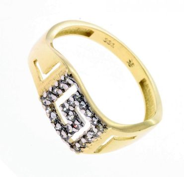 Damen Ring echt Gold 333 8kt. BE10548762 Zirkonia