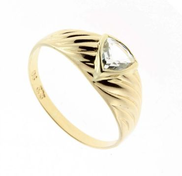 Damen Ring 333 echt Gold m.Zirkonia W.55 310695050010