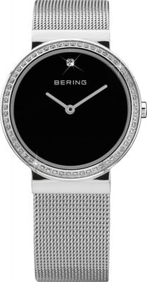 BERING Uhr Damenuhr 10725-012 Safirglas ultra slim design ladies watch Edelstahl