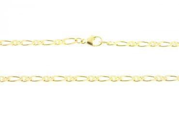 Collier Figaro Kette Gold 585 45cm massiv 210746010010