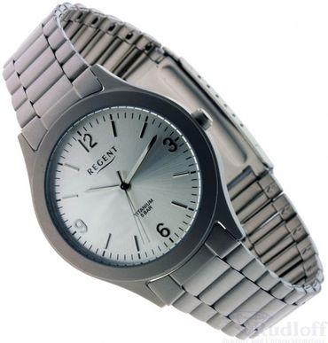 Regent klassische Titan-Uhr für Herren F1110