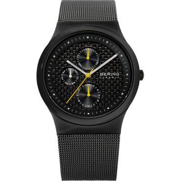 BERING Uhr flache Herrenuhr 32139-222 Safirglas Ceramic Stahl mens wrist watch
