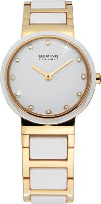 BERING Damen Uhr 10729-751 Ceramic Stahl Safirglas ultraslim design ladies watch
