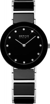 BERING Damen Uhr 11429-742 Ceramic Stahl Safirglas ultraslim design ladies watch
