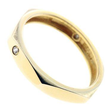 Damen Ring echt Gold 333 8 Karat Zirkonia 7119 Weite 56