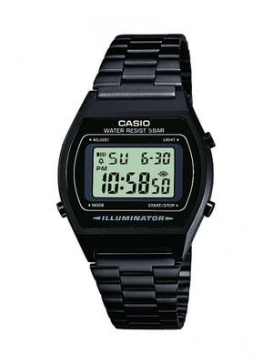 CASIO Uhr B640WB-1AEF DIGITALUHR CLASSIC RETRO Digital WATCH schwarz