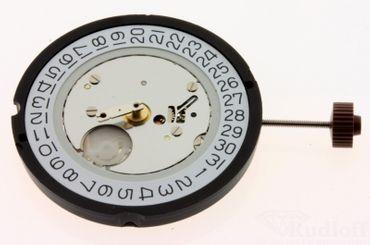 Uhrwerk Ronda 515 Ersatzwerk für Armbanduhr Quarz Analog 11 ½ Linien
