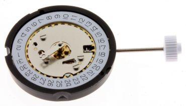 Ronda 585 Quartz Austausch Werk Ersatz Uhrwerk Datum Sekunde 8 3/4 Linien