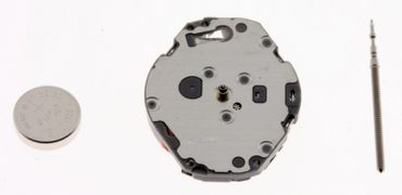 Uhrwerk Shiojiri VJ21 Ersatzwerk für Armbanduhr Quarz Analog 6 ¾ Linien