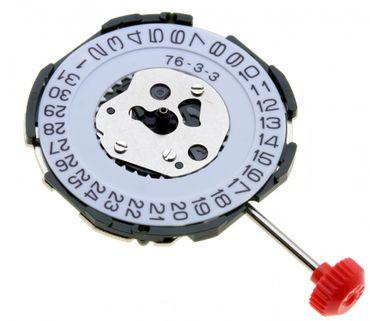Uhrwerk Miyota 2115 Ersatzwerk für Armbanduhr Quarz Analog 10 ½ Linien
