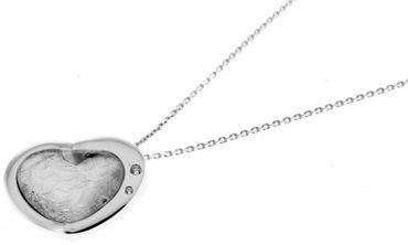 NOVELLUS Schmuck Damen Kette Collier Silber 925 Anhänger Herz 59-813111