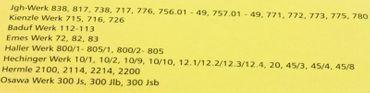 Sekunden Zeiger für Jgh. 838 738 und viele andere Quarzwerke 80 mm lang r011345