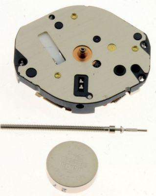 Uhrwerk Shiojiri Y121 Ersatzwerk für Armbanduhr Quarz Analog 6 ¾ Linien