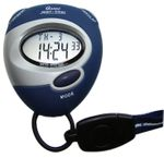 LCD Stoppuhr Sport-Uhr digital blau 001