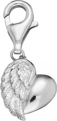 Engelsrufer Charm Herzflügel Silber ERC-HEART
