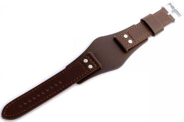 Fossil Original Lederband Ersatzband Armband CH2891 ohne Uhr m Federstegen 22mm