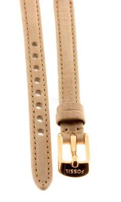 Fossil Original Lederband Ersatzband Armband ES3139 ohne Uhr m Federstegen 8mm