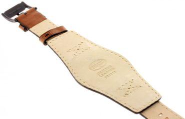 Fossil Original Lederband Ersatzband Armband FS4616 ohne Uhr m Federstegen 24mm