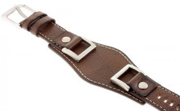 Fossil Original Lederband Ersatzband Armband JR1157 JR1155 JR1156 ohne Uhr 24mm
