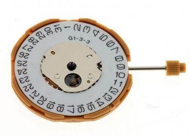 Uhrwerk Miyota GM10 Ersatzwerk für Armbanduhr Quarz Analog 10 ½ Linien