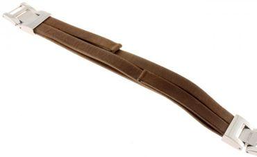 Fossil Original Lederband Ersatzband Armband JR1324 ohne Uhr mit Federstegen 8mm