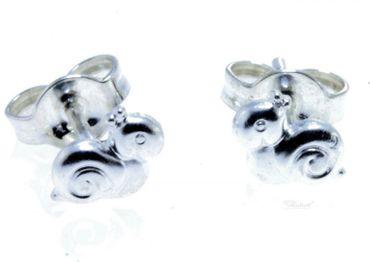 Ohrstecker Ohrschmuck Kinder Ohrringe echt Silber 925 Schnecke 3445550102