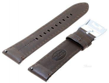 Fossil Original Lederband Ersatzband Armband FS4735 ohne Uhr m Federstegen 22mm
