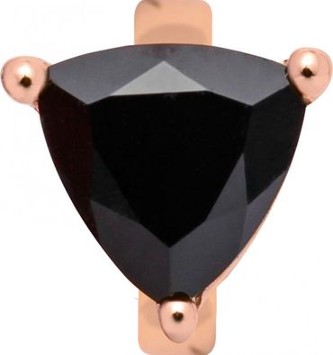 Endless Charm Black Onyx Rosé-Vergoldet 27405