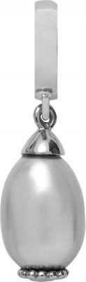 Endless Charm Grey Pearl Drop Silber 31251