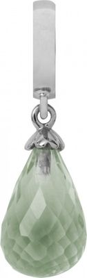 Endless Charm Green Amethyst Drop Silber 31500