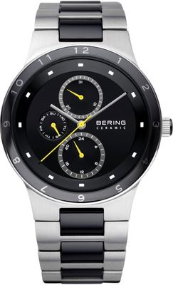 BERING Uhr Ceramic Stahl 32339-722 Herrenuhr Safirglas ceramic steel mens watch
